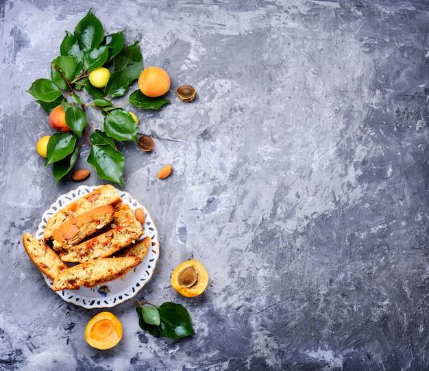 Popular italian biscotti Premium Photo
