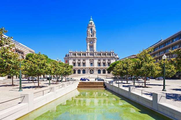 Porto city hall Premium Photo