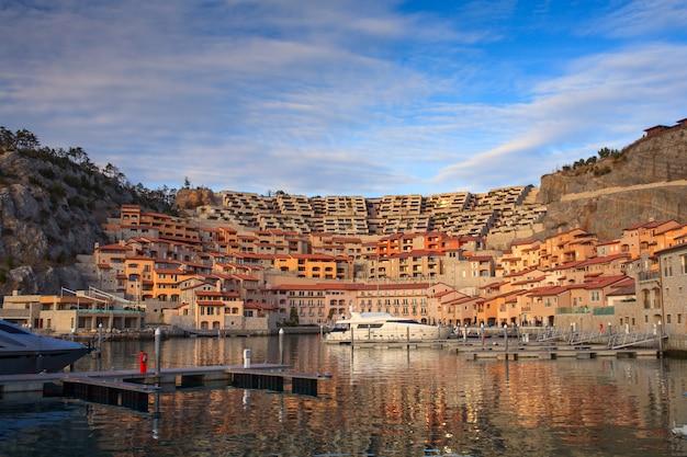 Porto piccolo, sistiana. italy Premium Photo