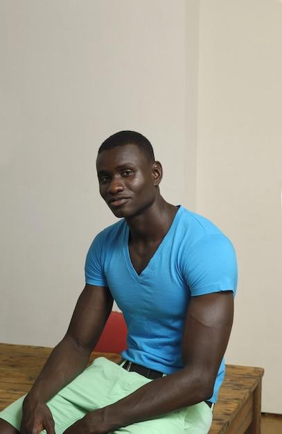 Portrait of a african man Premium Photo