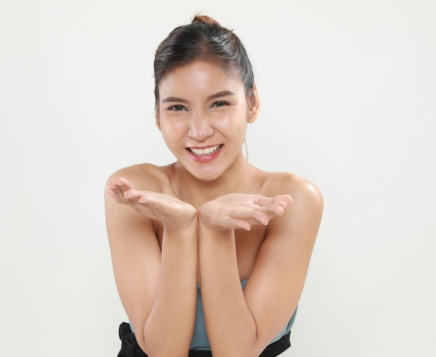 Portrait of attractive asian woman beauty Free Photo