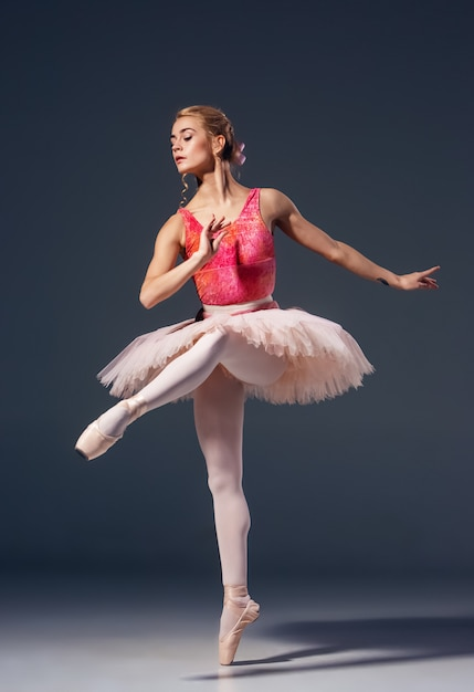Download This Free Photo Portrait Of The Ballerina In Ballet Pose