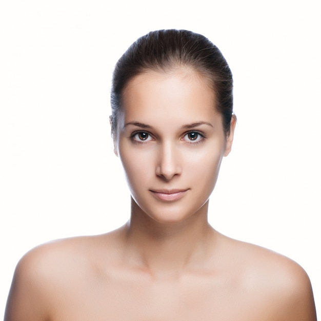 Portrait of a beautiful healthy girl Premium Photo