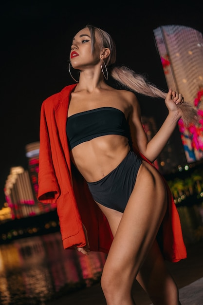 Girl in night sexy Hawaii's Best