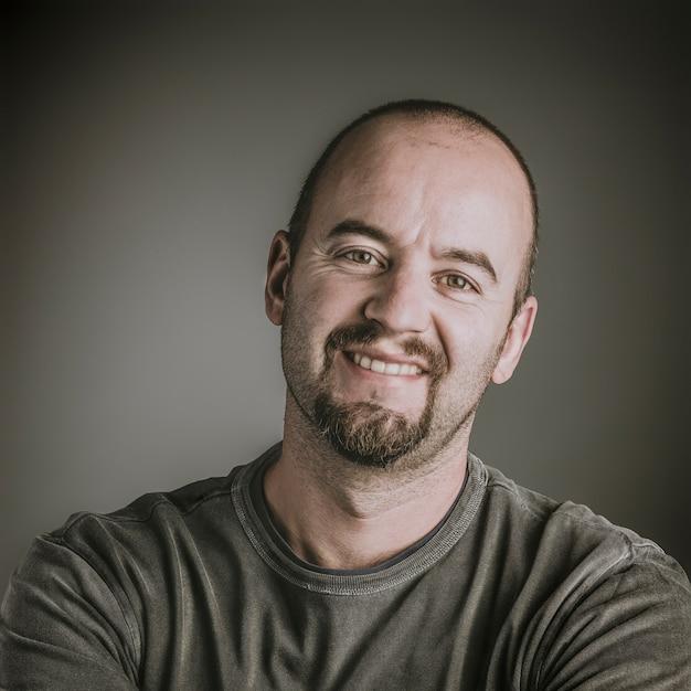 Portrait of caucasian man Premium Photo