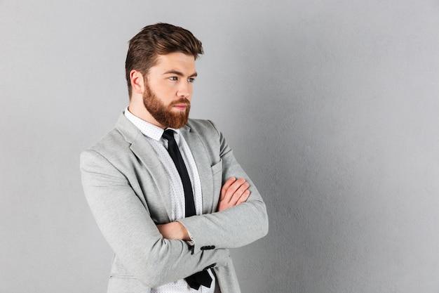 Portrait of a confident businessman Free Photo
