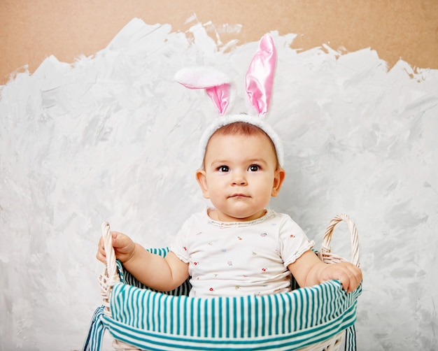 EASTER BUNNY CHILDREN EARS HAT KIDS FANCY NOVELTY EASTER PARTY COSTUME ACCESSORY