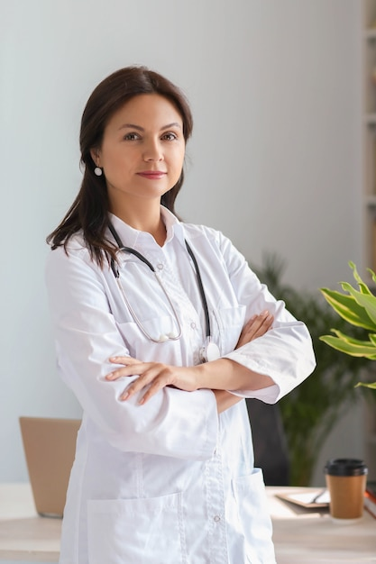 Portrait of a doctor Free Photo