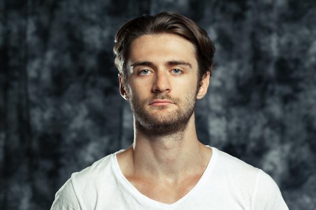 Portrait of a funny man Premium Photo