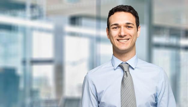 Portrait of a handsome businessman Premium Photo