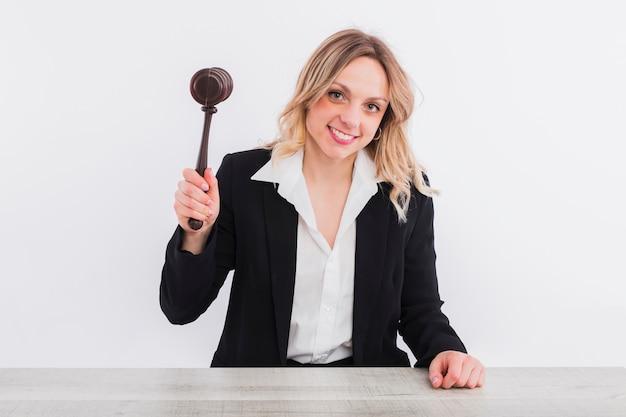 Portrait of judge Free Photo
