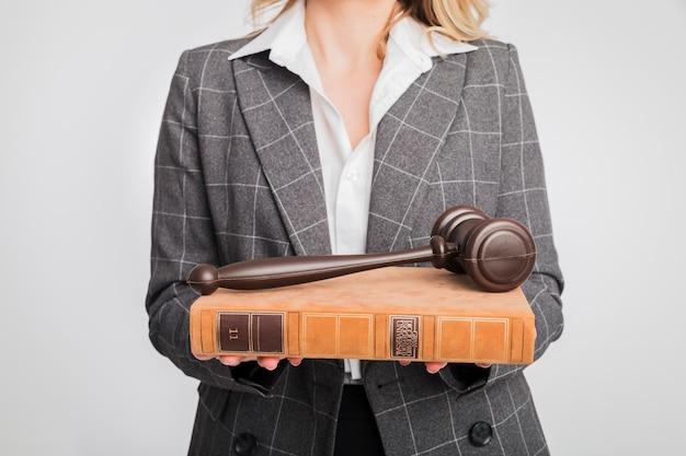 Portrait of lawyer woman Free Photo
