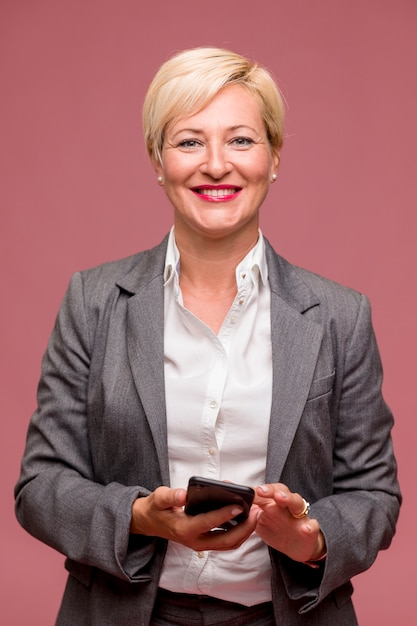 Portrait of middle aged businesswoman Free Photo
