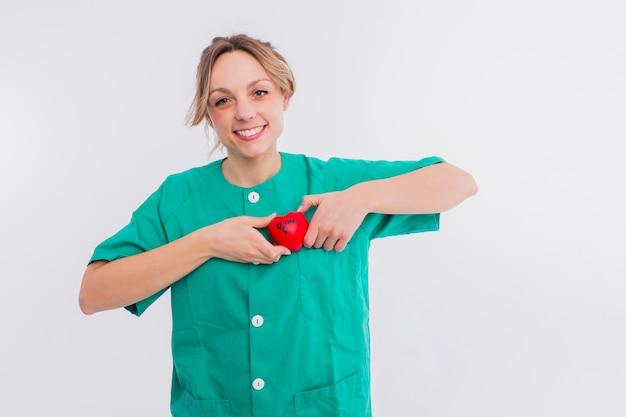 Portrait of nurse Free Photo