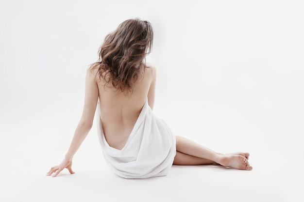 아름 다운 여자의 초상화 무료 사진