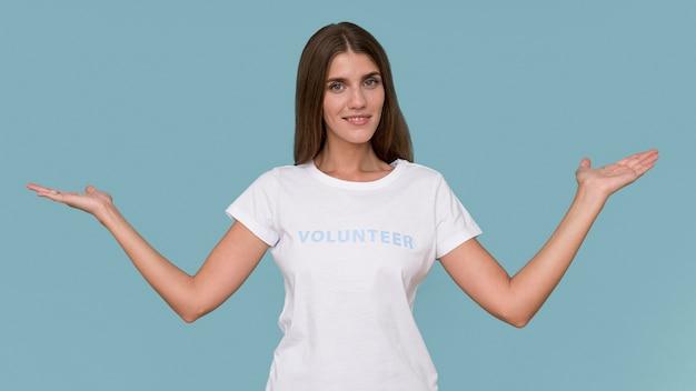 Портрет гуманитарного волонтера Бесплатные Фотографии