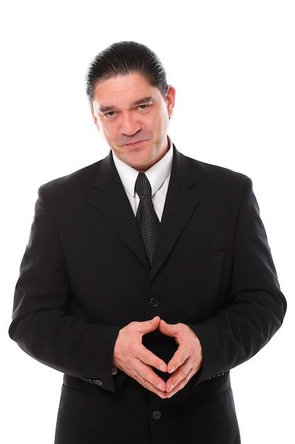 Портрет среднего возраста бизнесмена Бесплатные Фотографии
