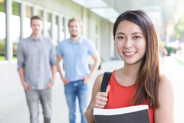asian hire student
