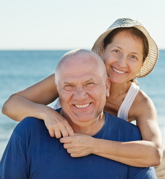 Portrait of smiling mature couple Free Photo