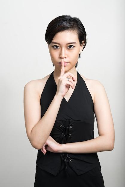 Short asian women