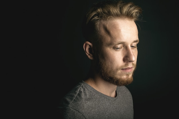 Portrait of young man Premium Photo