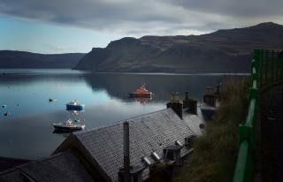 Portree Harbour Isle of Skye - Early Mor Free Photo