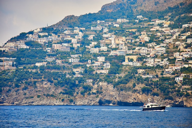 Positano, amalfi coast, campania, italy. beautiful view Premium Photo
