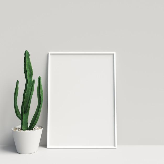 Poster Mockup Frame Mockup Interior Decoration Premium Photo