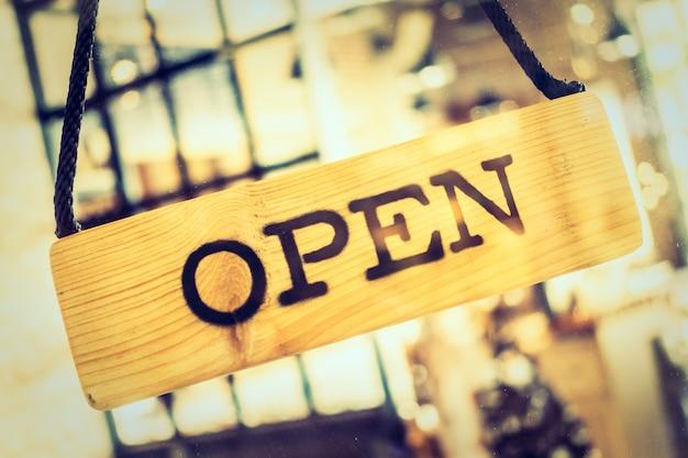 Poster aprire un ristorante Foto Gratuite