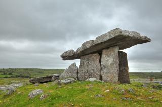 Poulnabrone dolmen   hdr  primitive Free Photo