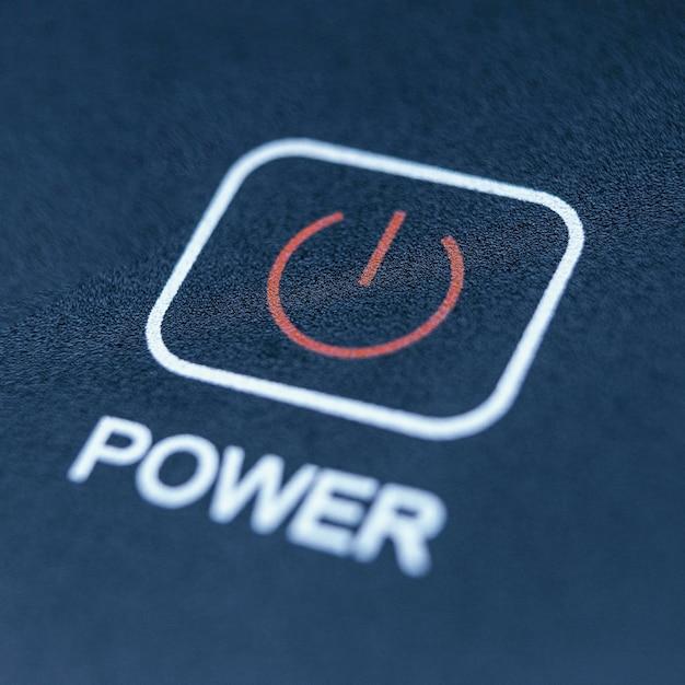 電源ボタンの背景 無料写真