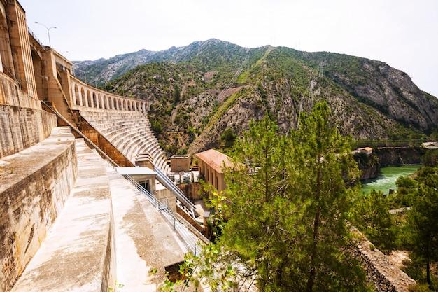 Power plant on segre river Free Photo