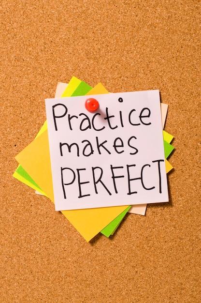 Practice makes perfect Premium Photo