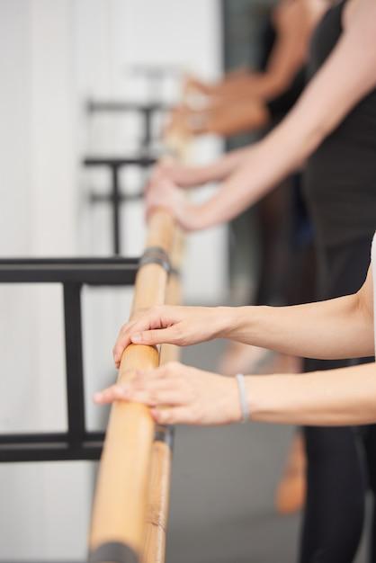 Practicing ballet Free Photo
