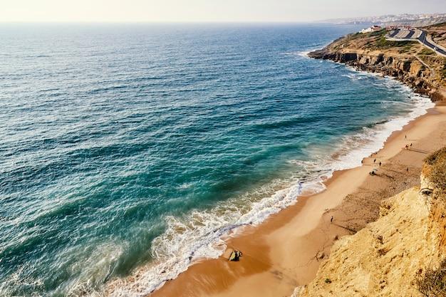 Пляж прайя сан джулиао Premium Фотографии
