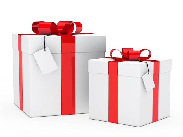 Prepared gifts for birthday Free Photo