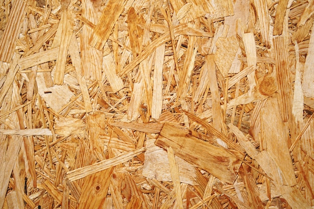 Pressed wood background Premium Photo