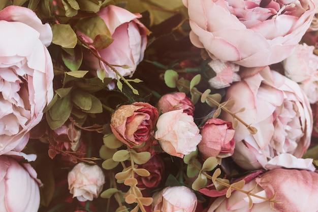 예쁜 웨딩 꽃 가까이보기 배경 무료 사진