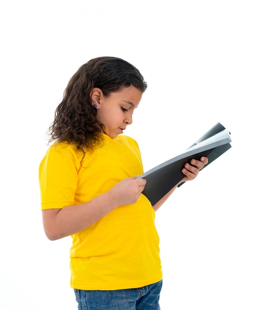 本を読んでかなり若い10代 Premium写真