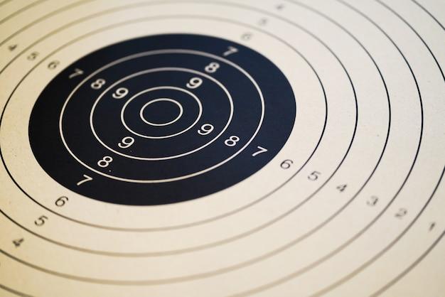 Printable shooting targets and gun targets Premium Photo