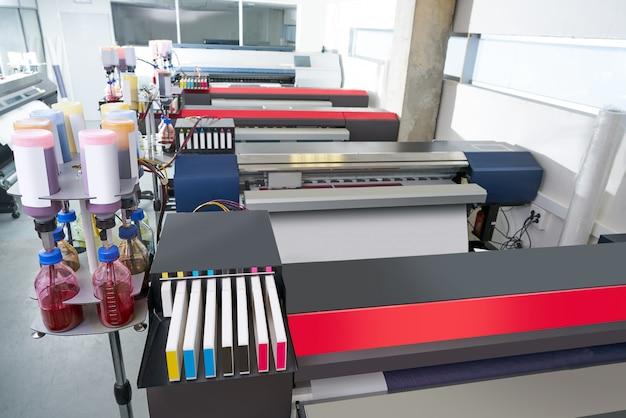 Printing industry transfer paper printer for textile Premium Photo