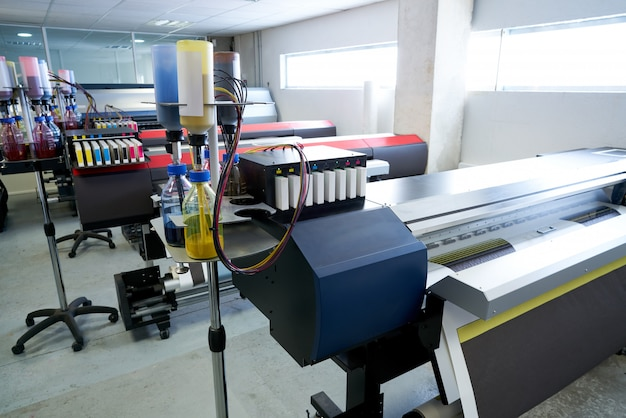 Printing industry transfer paper printer for textile Premium Photo