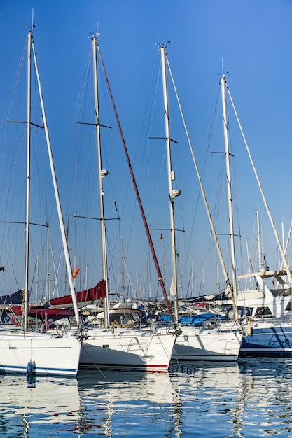 Private yachts in port Free Photo
