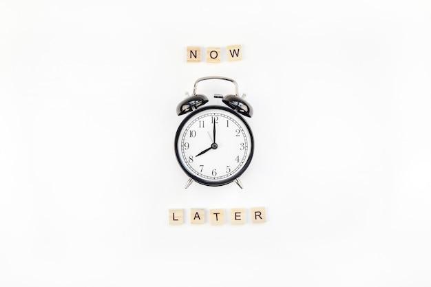 Of procrastination and time management Premium Photo
