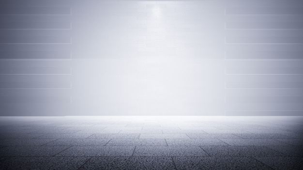 Product showcase spotlight background 3d rendering Premium Photo