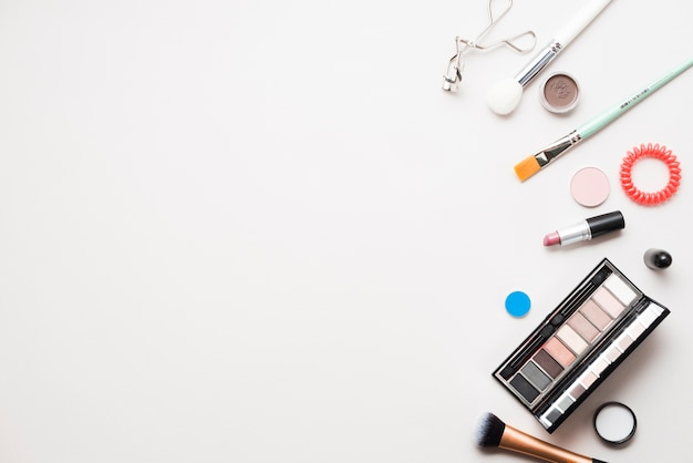 Professional cosmetics and brushes Free Photo