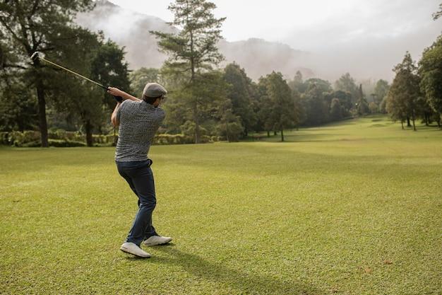 Professional golfer. bali. indonesia. Free Photo