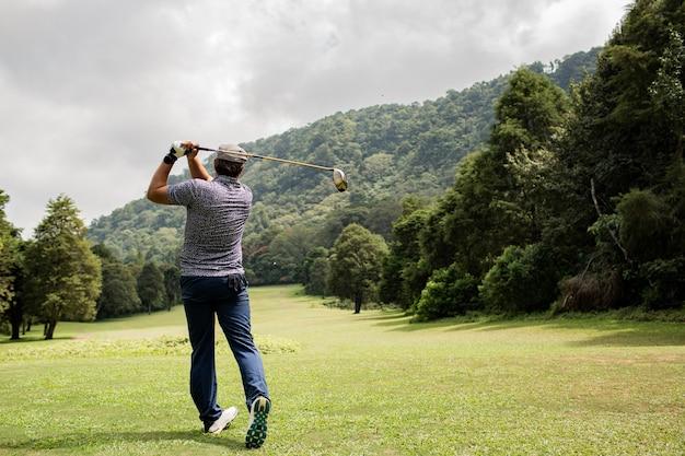 프로 골퍼. 발리. 인도네시아. 무료 사진