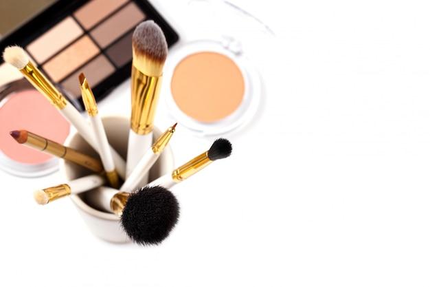 Professional makeup tools Premium Photo