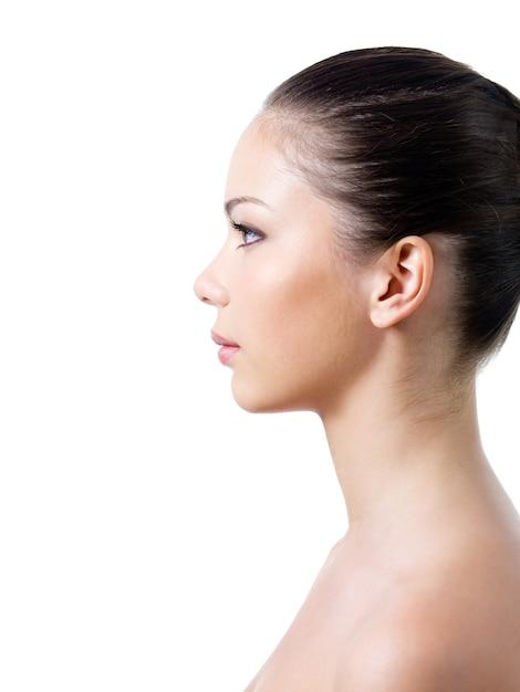 Профиль женщины со здоровой кожей Бесплатные Фотографии